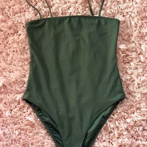 Forever 21 Green One piece Swimsuit